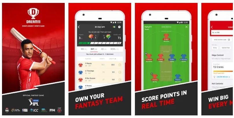 Download Dream11 Vivo IPL Official Partner (Fantasy Sports