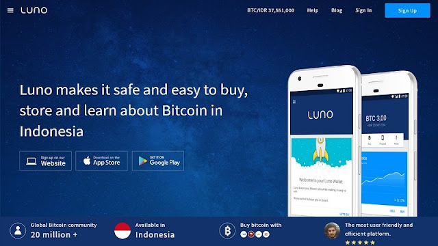 Luno - Wallet Bitcoin