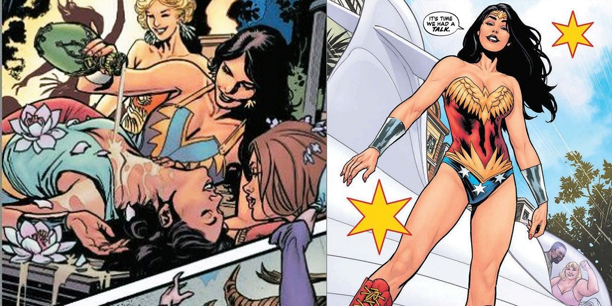 Wonder woman y superman-8138