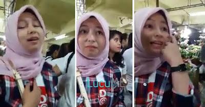 Gadis Ahok Berhijab Dites Rukun Islam dan Iman, Jawabannya Mengejutkan