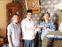 Anggota DPRD Lampung Tengah Serahkan Senjata Api ke Polisi
