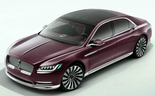 New 2017 Lincoln Continental Exterior