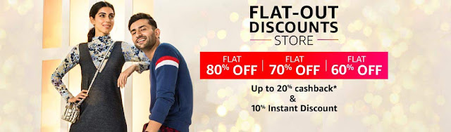 Flat out Discount and Cashback offers