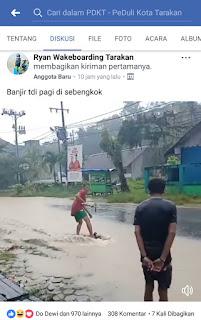 Screenshot 2018 02 07 16 53 02 com.facebook.katana 1517998538578 - VIRAL- Warga Sebengkok Berselancar Saat Banjir.