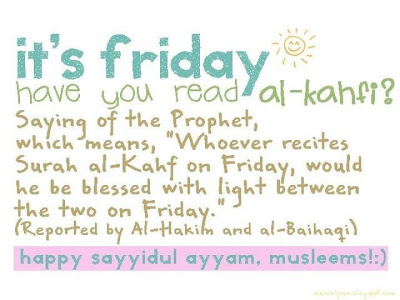 Al-Kahfi on Friday