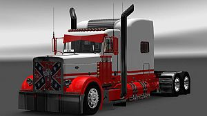 Rebel Pete skin for Peterbilt 389