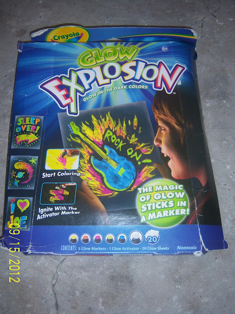7 Kids And Crayola Glow Explosion Giveaway