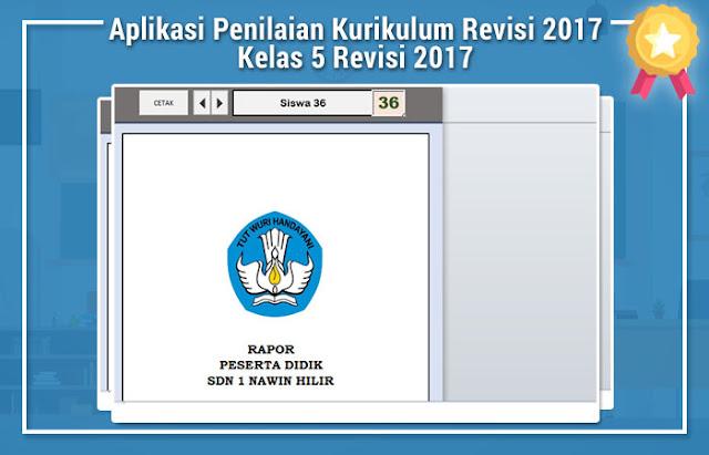 Aplikasi Penilaian Kurikulum Revisi 2017 Kelas 5