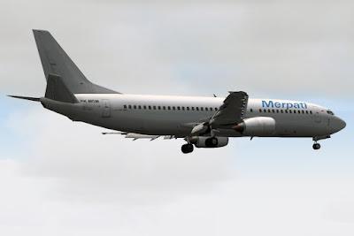 [50N] Merpati Boeing 737-400 (PK-MDM)