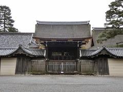 京都御所:朔平門