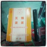 Moxa tanpa asap merek Bian Que Pai 1 box isi 5 roll
