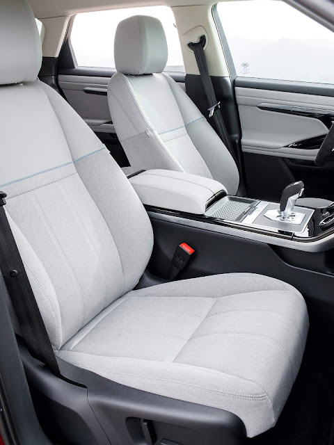 Novo Range Rover Evoque 2020 - interior