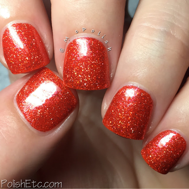 Pahlish - Holo-ween III - McPolish - Candy Corn on the Cob
