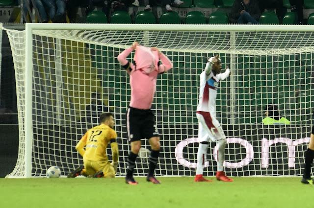 Palermo-Cittadella 0-3
