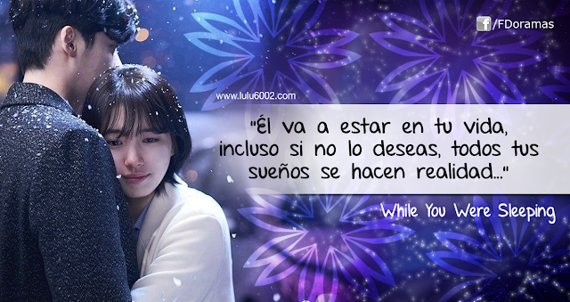 while you were sleeping frases kdrama dorama mientras dormias