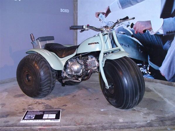 "3 WHEELER BIKE ATV 36/"" X 60/"" PRINTED HONDA ATC 70 BANNER"