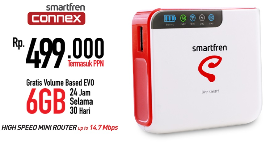 SPECIFICATIONS Wifi Modem Smartfren Connex M1