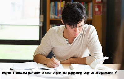 do blogging as student