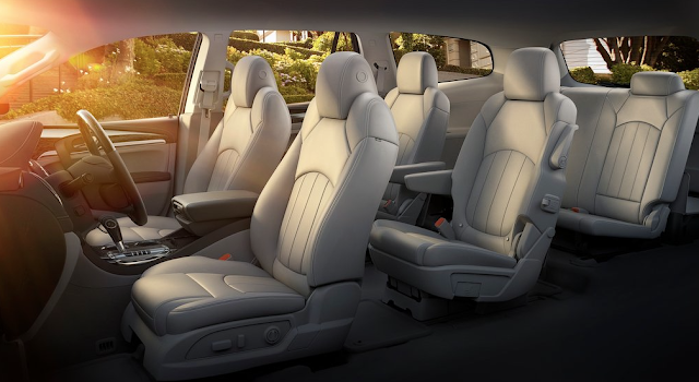 2013 Buick Enclave interior cream