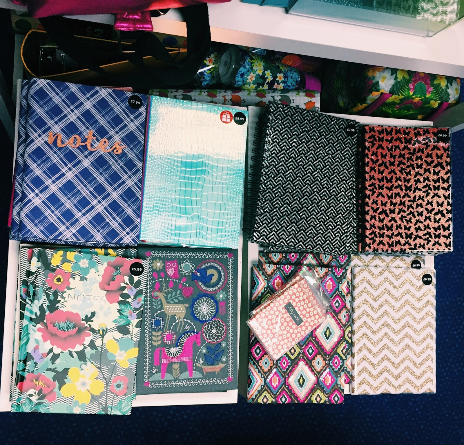 WHSmith Notebooks and Diaries