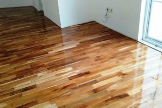 lantai kayu solid parquet