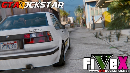 GTA V - FiVeX (Graphics Enhancement) V2.1.1 for GTA V