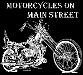 Motorcycles On Main Street