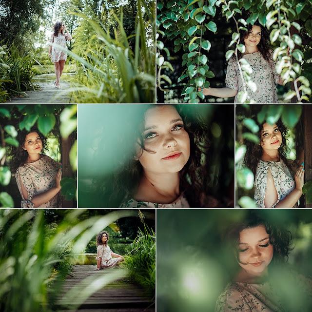 Sesja kobieca - Karolina | Ogród Botaniczny | Fotograf Lublin