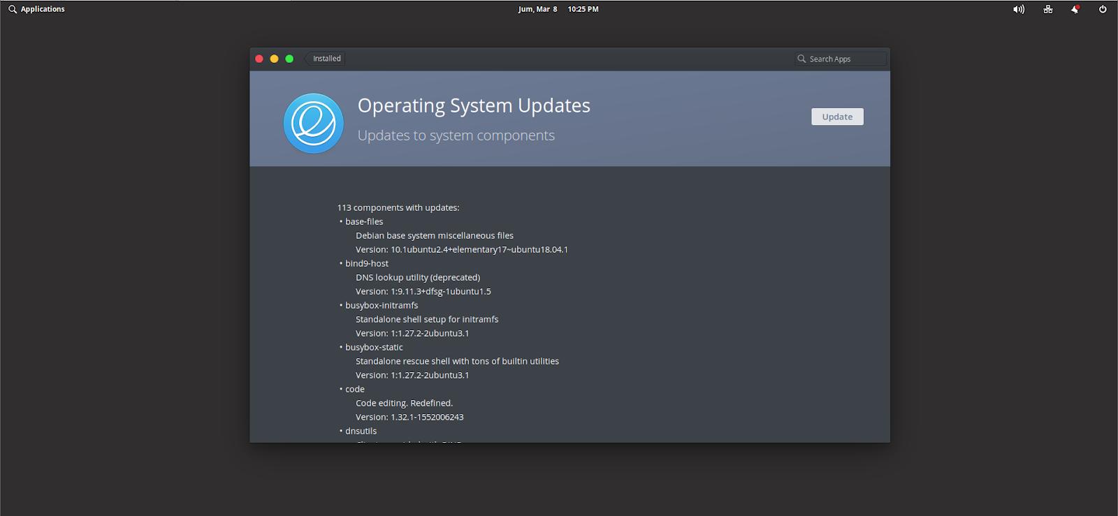 Ada Update Di Elementary OS Juno, Kamu Sudah Update? - BLOG SAYUGI