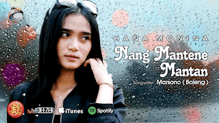 Lirik Lagu Hana Monina - Nang Mantene Mantan