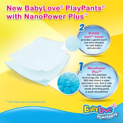 babylove playpants, lampin pakai buang terbaik, lampin pakai buang jenama babylove, beli lampin pakai buang di lazada