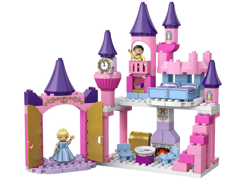 my lego style lego duplo disney princess cinderella 39 s castle 6154. Black Bedroom Furniture Sets. Home Design Ideas