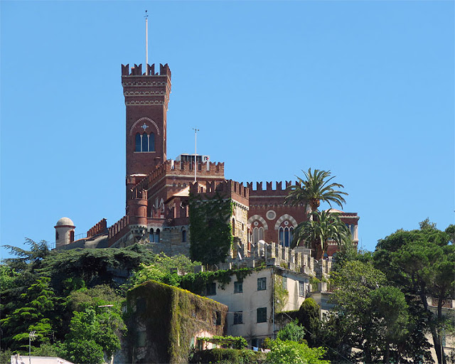Castello d'Albertis, D'Albertis Castle, Castelletto, Genoa