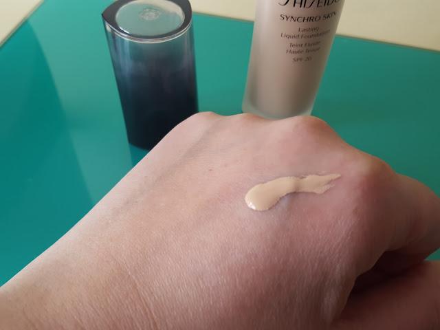 Novità Shiseido: Synchro Skin