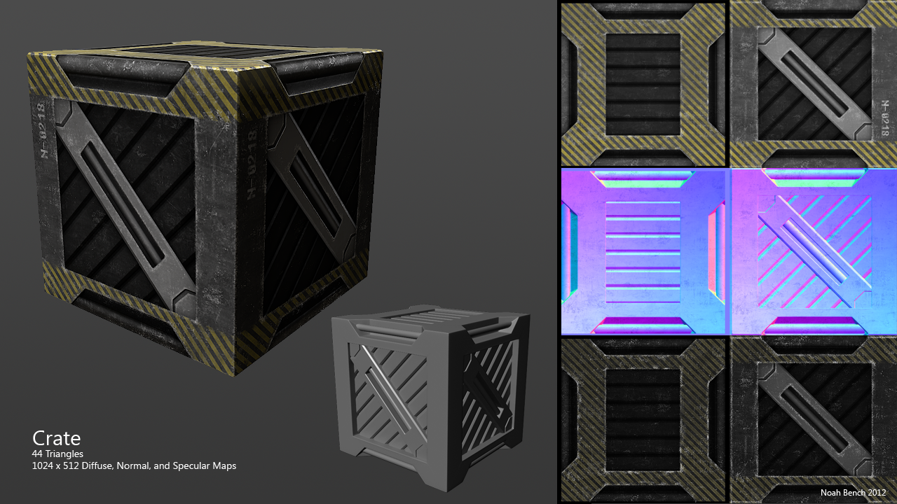 Sci Fi Crate Texture | Home Interior Design