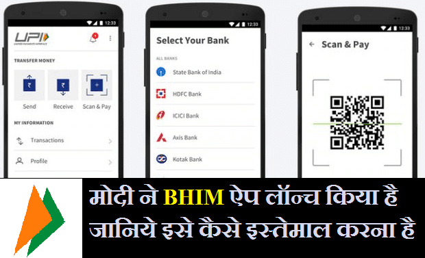 download bhim app how bhim app works