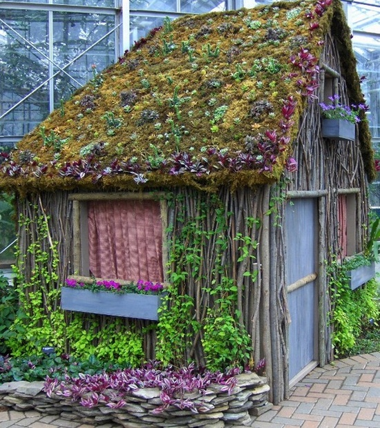 Lady Anne's Cottage: Charming Garden Sheds