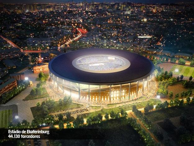 #Yekaterimburgo – Ekaterimburgo Arena - 35.000