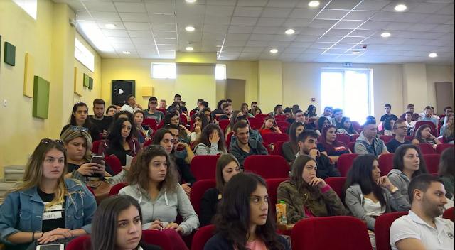 Πρέβεζα: Υποδοχή πρωτοετών φοιτητών Τμ. Λογιστικής και Χρημ/κής στην Πρέβεζα