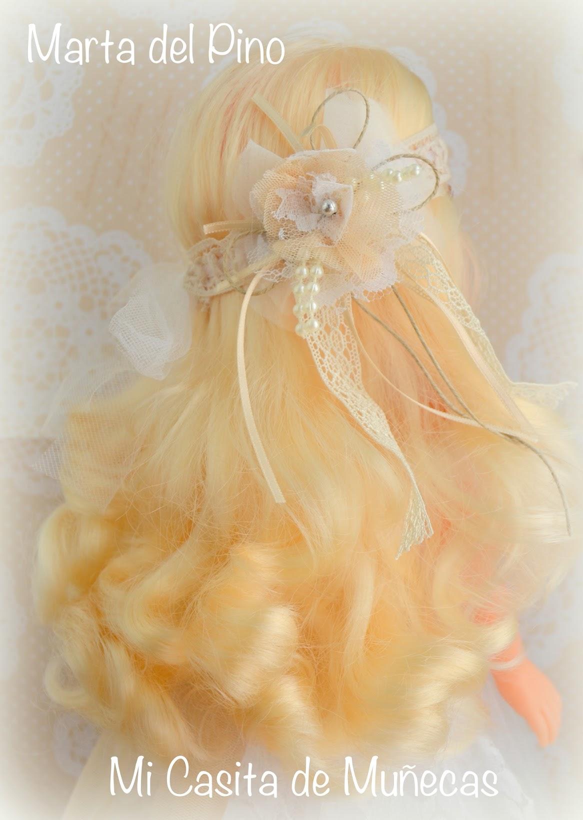 vestido de comunión para Nancy, vestido de comunión para muñecas, vestidos personalizados de comunión, hechos a mano, Marta del Pino, Mi Casita de Muñecas