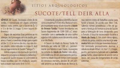 biblia arqueologica antigo testamento