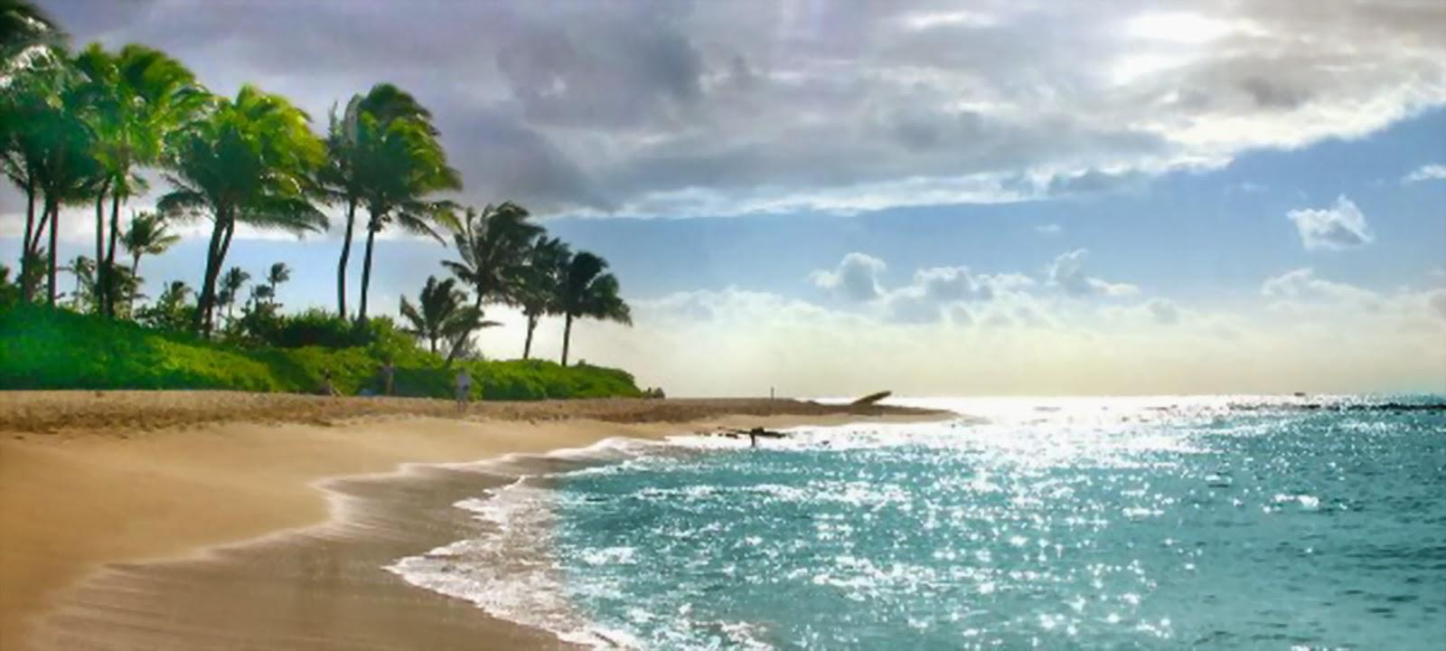Wallpaper Pemandangan Pantai Terindah Di Dunia  Stok