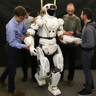Valkyrie, Robot Humanoid yang Akan Bertugas di Mars