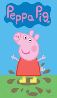 EDIBLE IMAGE PEPPA PIG