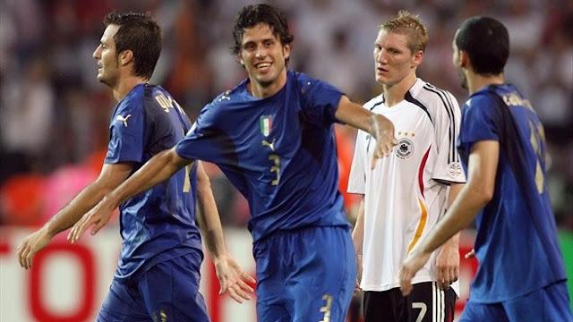 Alemanha 0x2 Itália: 10 anos de um dos maiores jogos da história das Copas