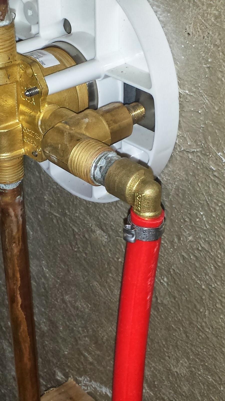 Install Shower Faucet With Pex - keradora