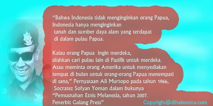 5  Alasan Indonesia Tidak  Akan Pernah Menganggap Orang Papua Bagian dari Indonesia