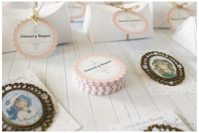 etiquetas personalizadas boda