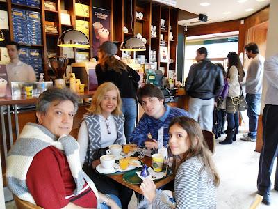 San Telmo; Buenos Aires; viajando pela America Latina; Café Havanna