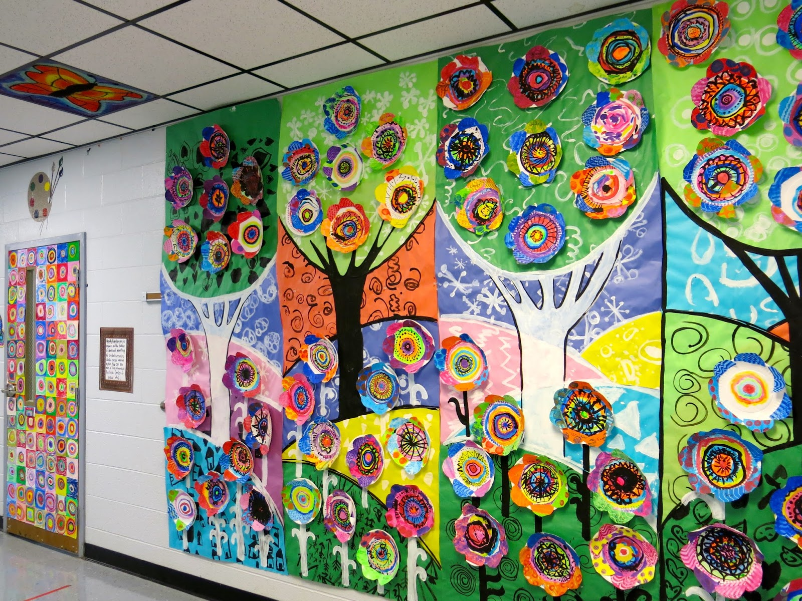 Collaborative Classroom Art Project : Cassie stephens in the art room top tips to putting
